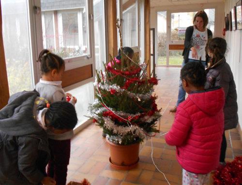 Le centre s'habille pour Noël !