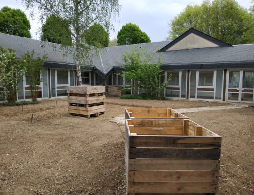 Projet jardin, ça avance !