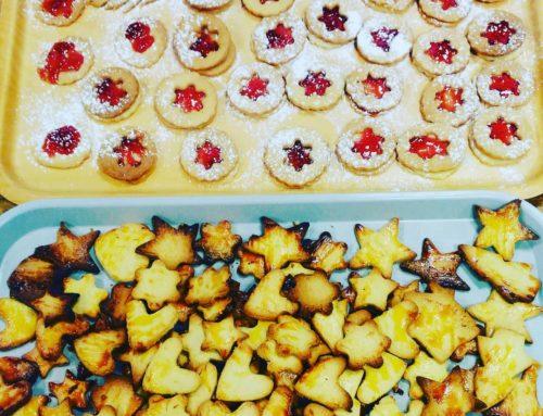 La pâtisserie avant Noël !