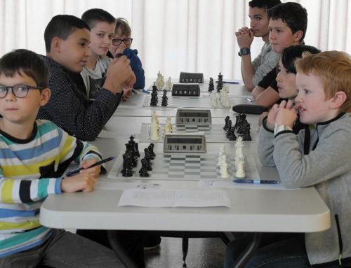 la rentrée sportive des Jeunes de Rennes Longs-Prés Echecs.