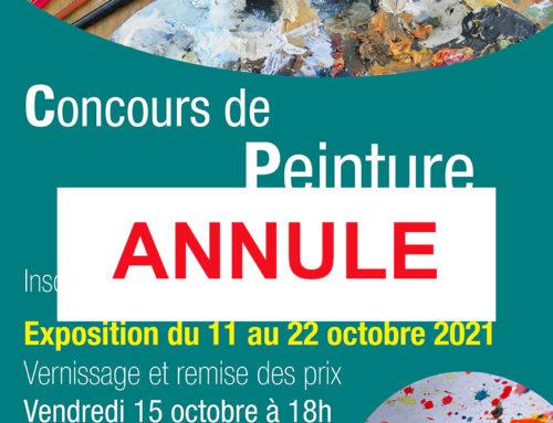 19ème Concours de Peinture – ANNULE